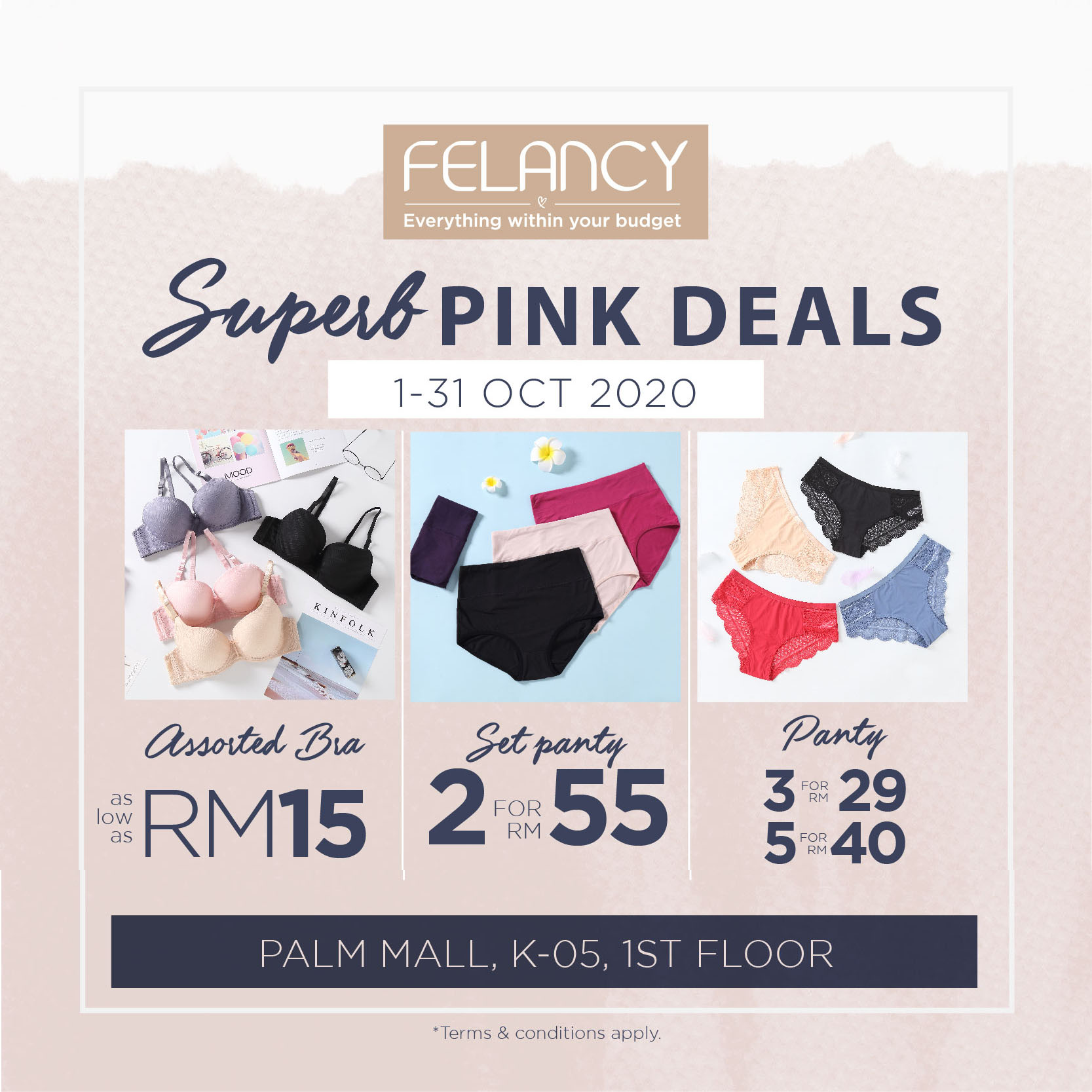 Superb Pink Deals