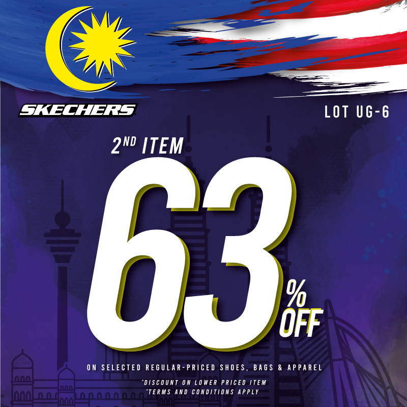 Skechers 2nd Item 63%
