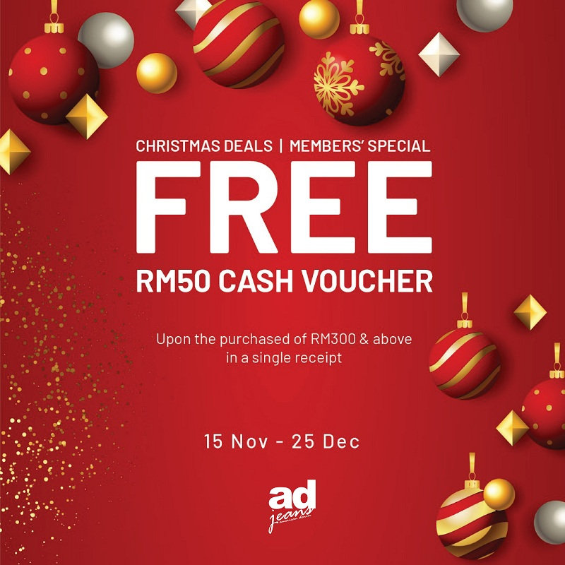 Ad Jeans Christmas Deal!