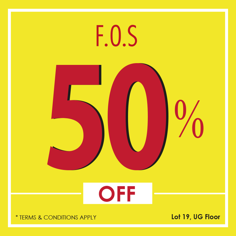 50% May Promotion