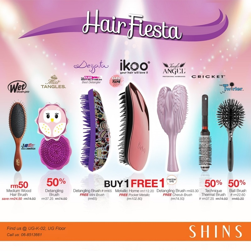 SHINS Hair Fiesta 2018 (Hair Brush)