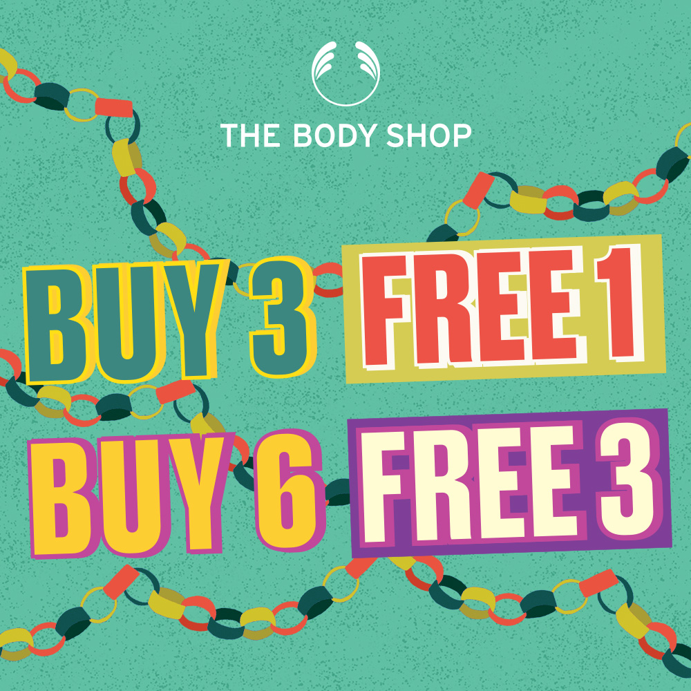 The Body Shop Multi-buy Promotion