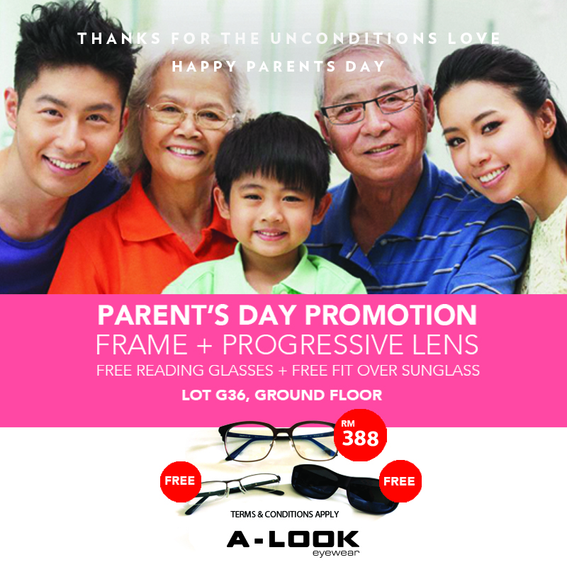 A-Look Parent Day Promotion