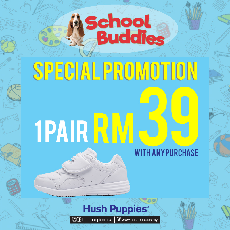 Hush Puppies School Shoes Promotion