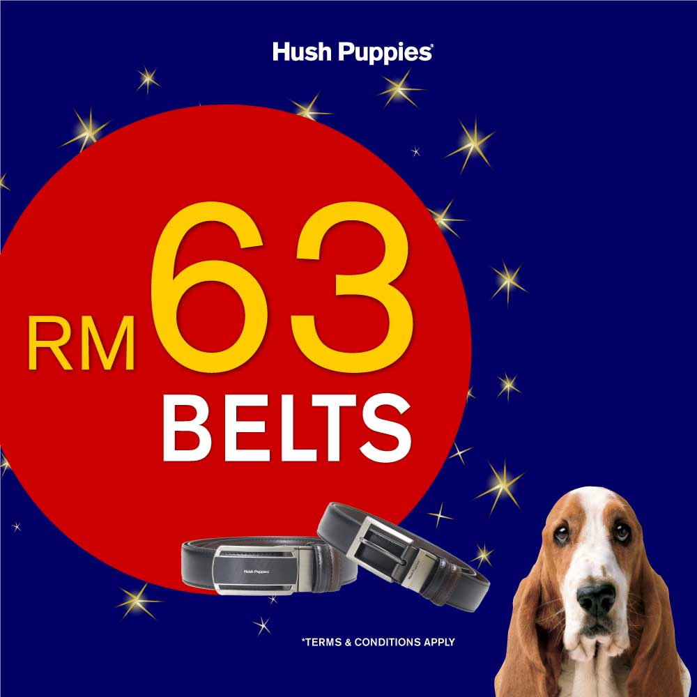 Hush Puppies Belt Promotion