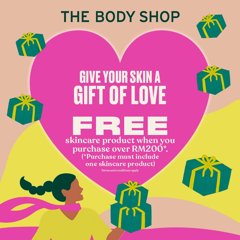 The Body Shop Rise Up with Self-Love