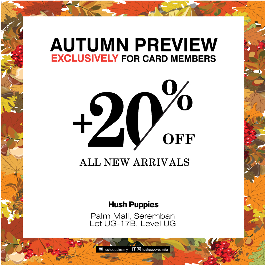 Hush Puppies Autumn Preview