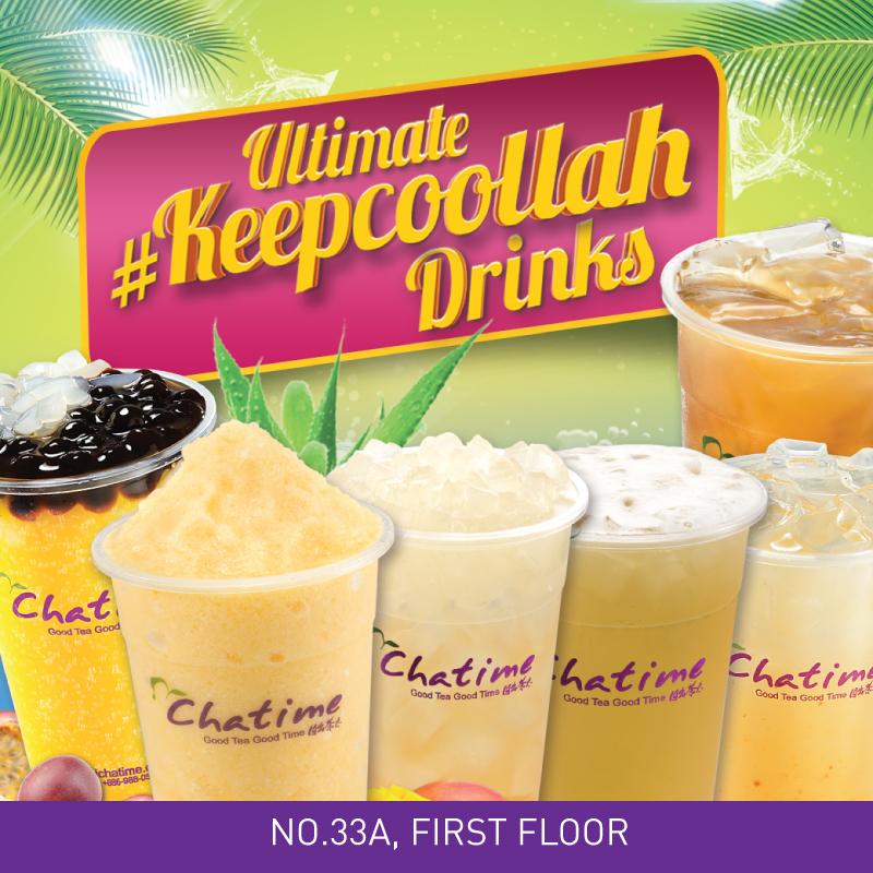 Ultimate #Keepcoollah Drinks