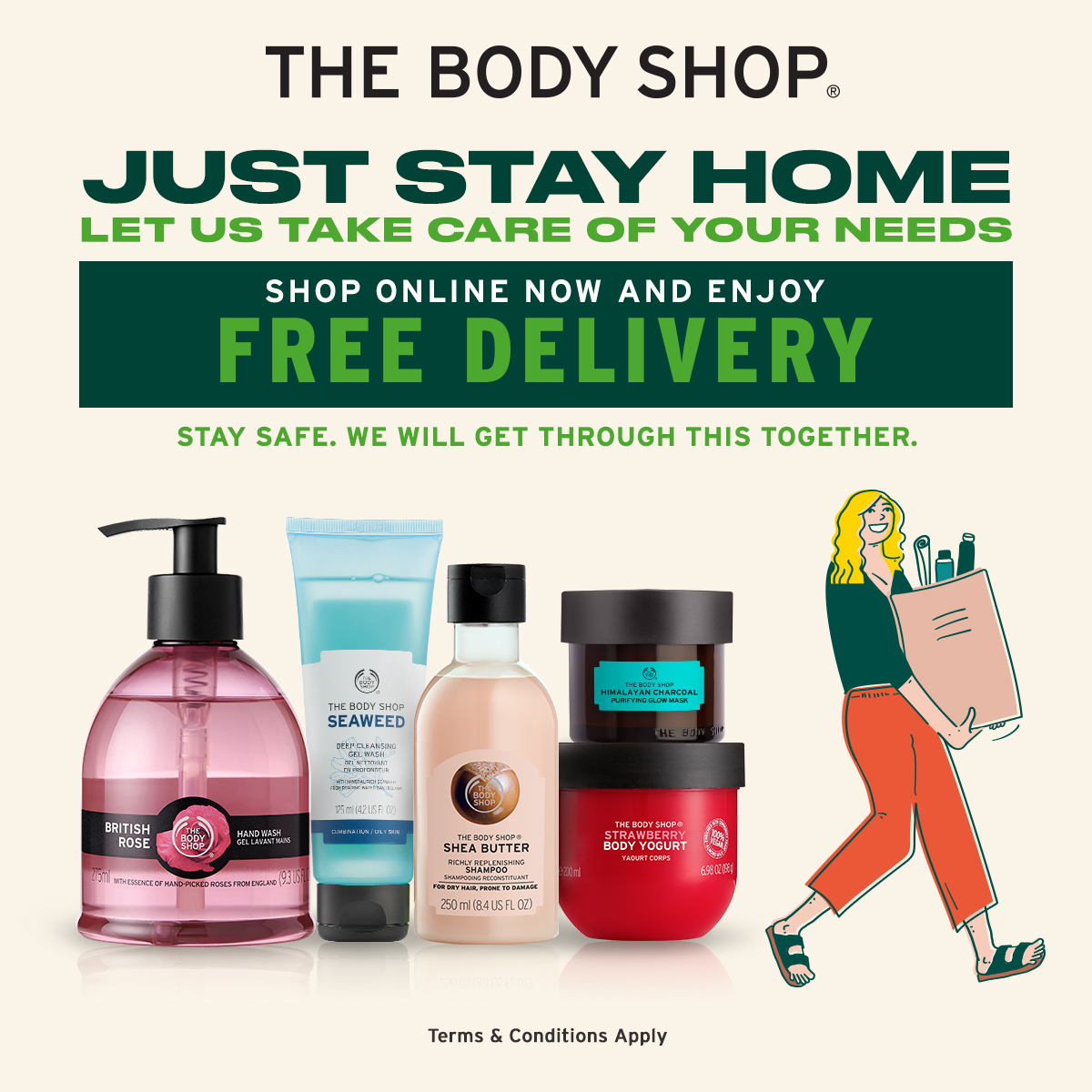 The Body Shop Delivery