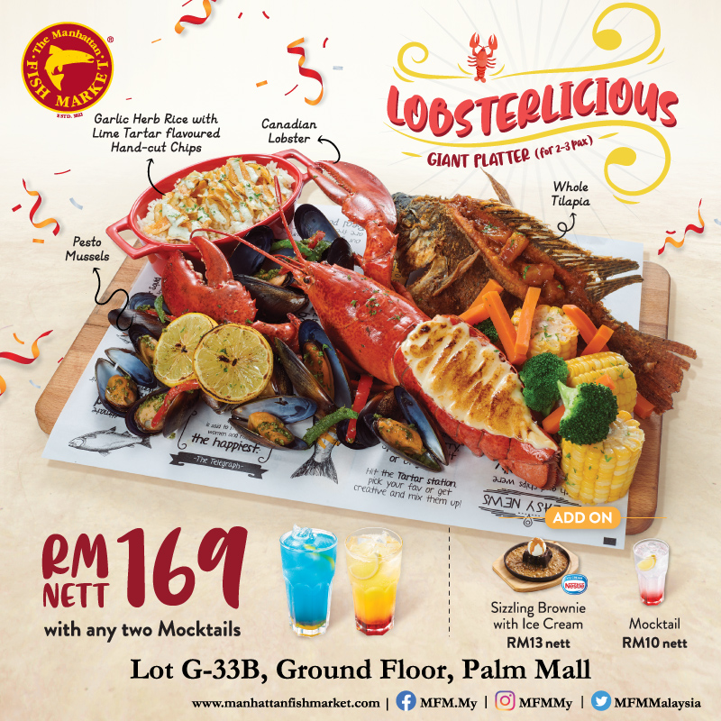 MFM : Lobsterlicious Giant Platter