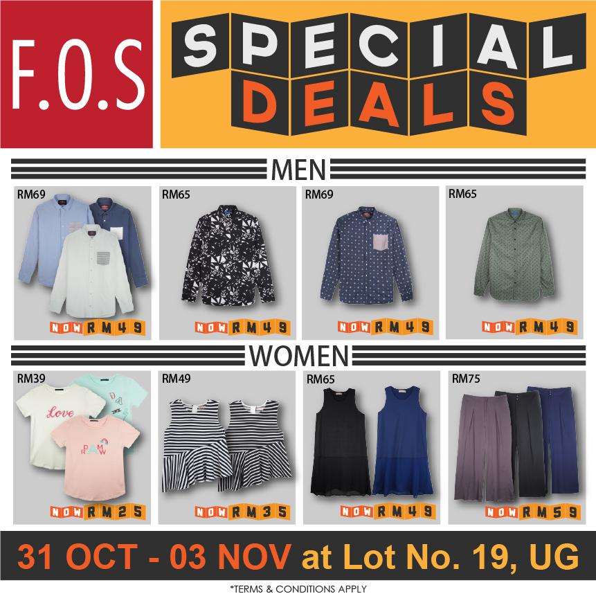 F.O.S Special Deals