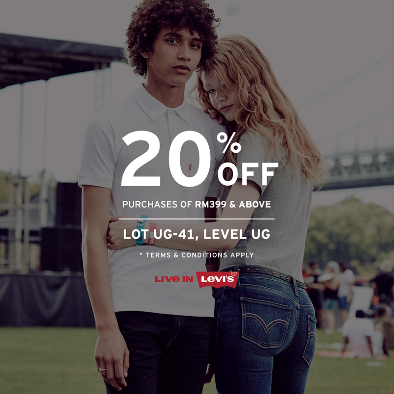 Levi's Ramadhan Promotion