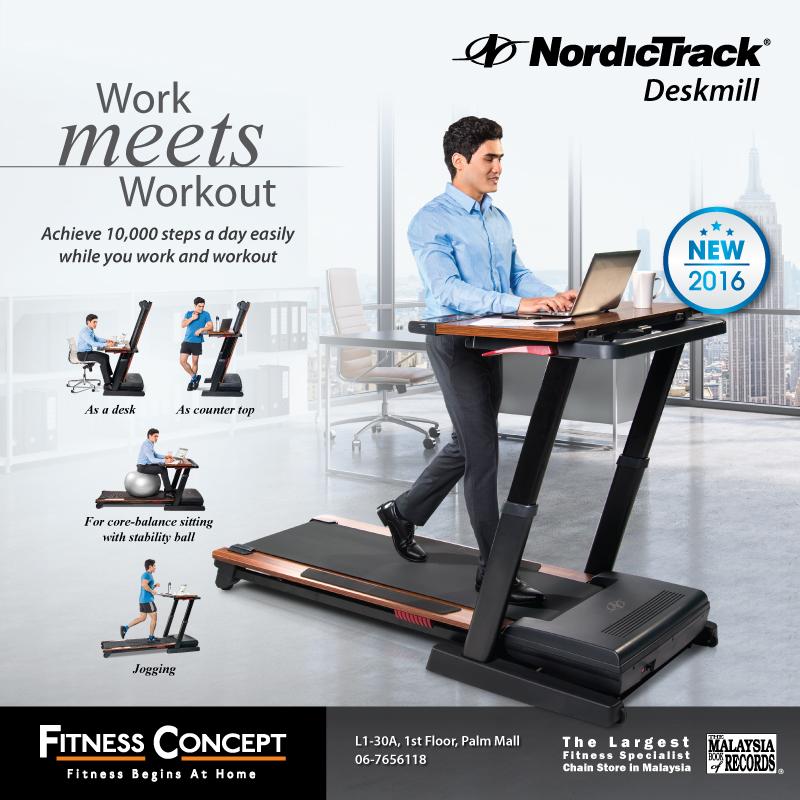 NordicTrack® Deskmill