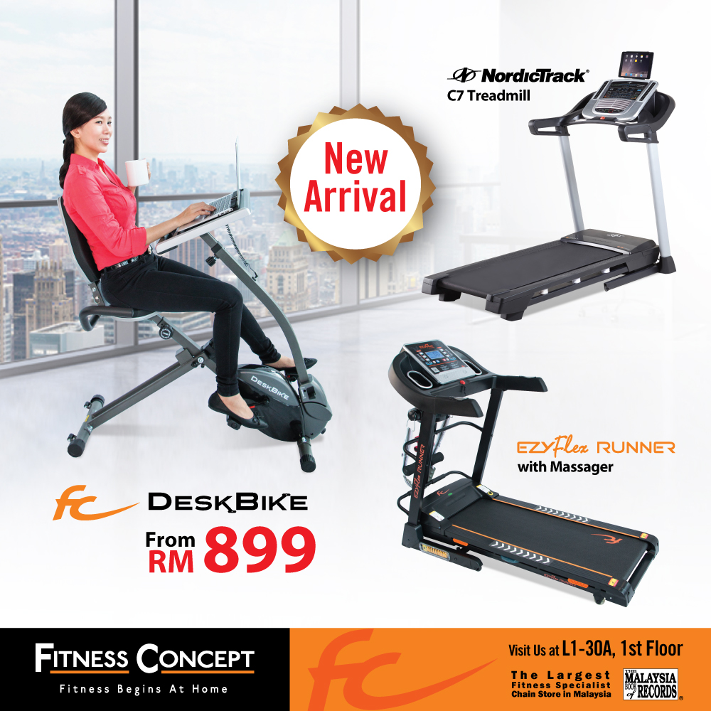 Fitness Concept January Promotion