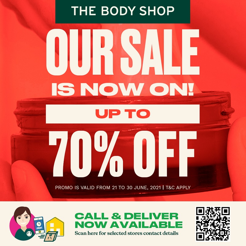 The Body Shop SALE & Call & Deliver