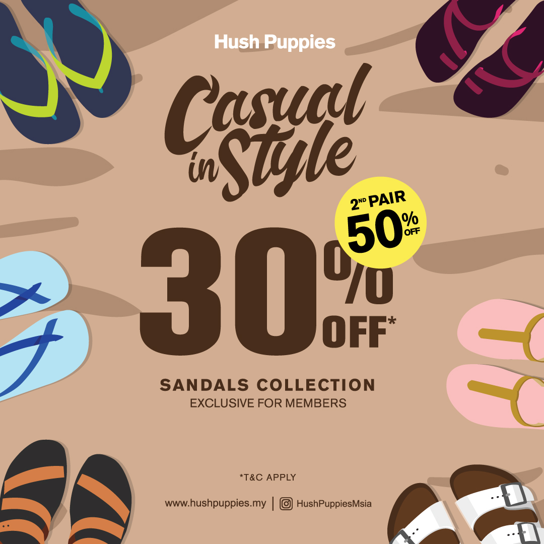 Hush Puppies October Promotion