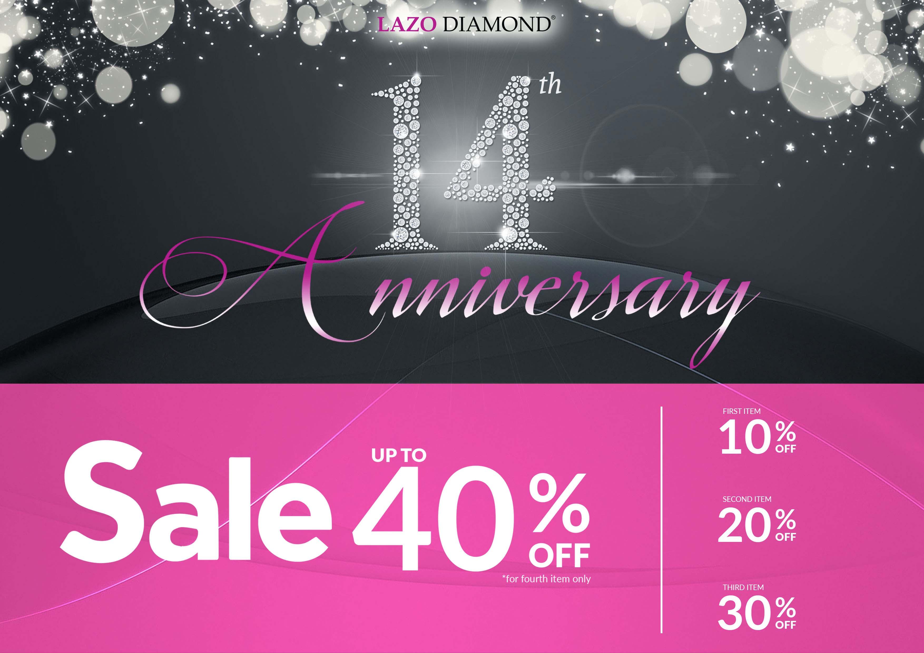 Lazo Diamond 14th Anniversary