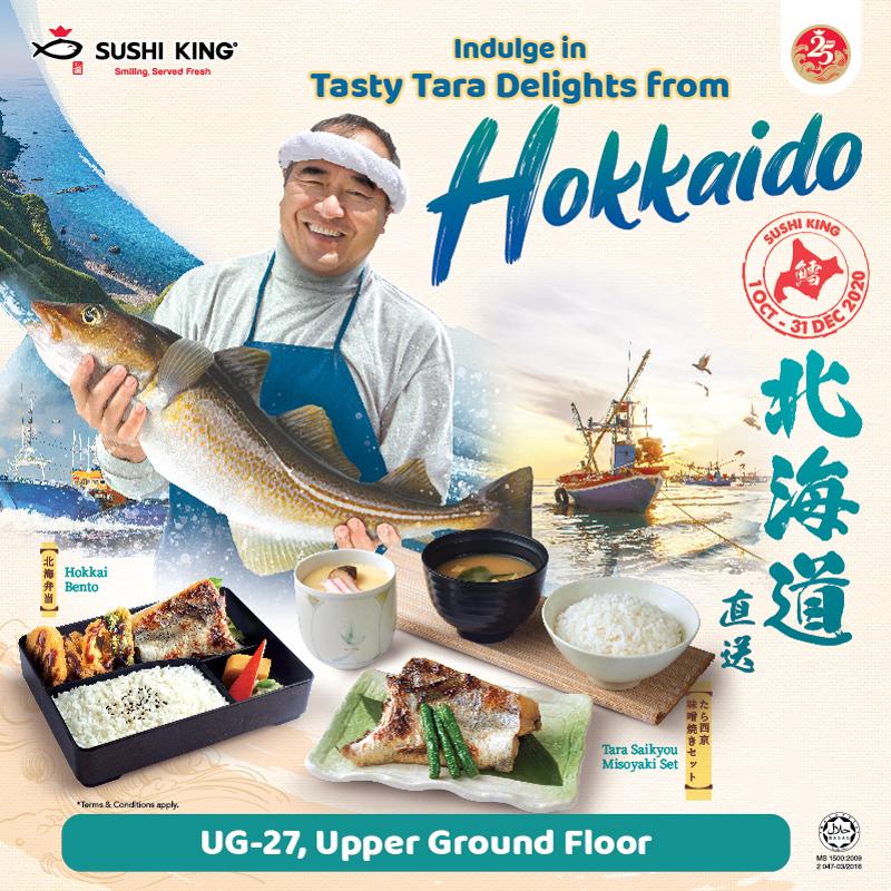 Indulge in Tasty Tara Delights from Hokkaido