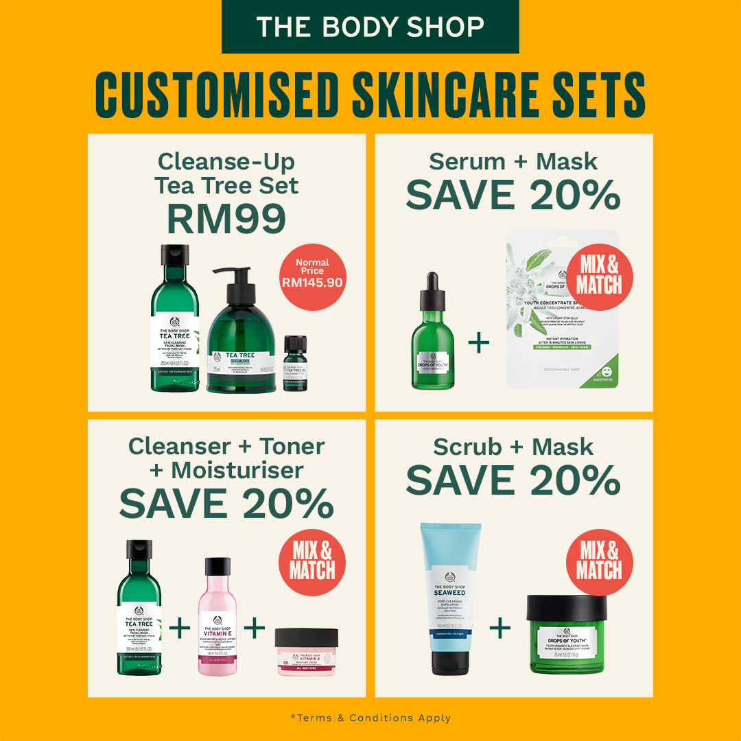 The Body Shop -Customised Skincare Set