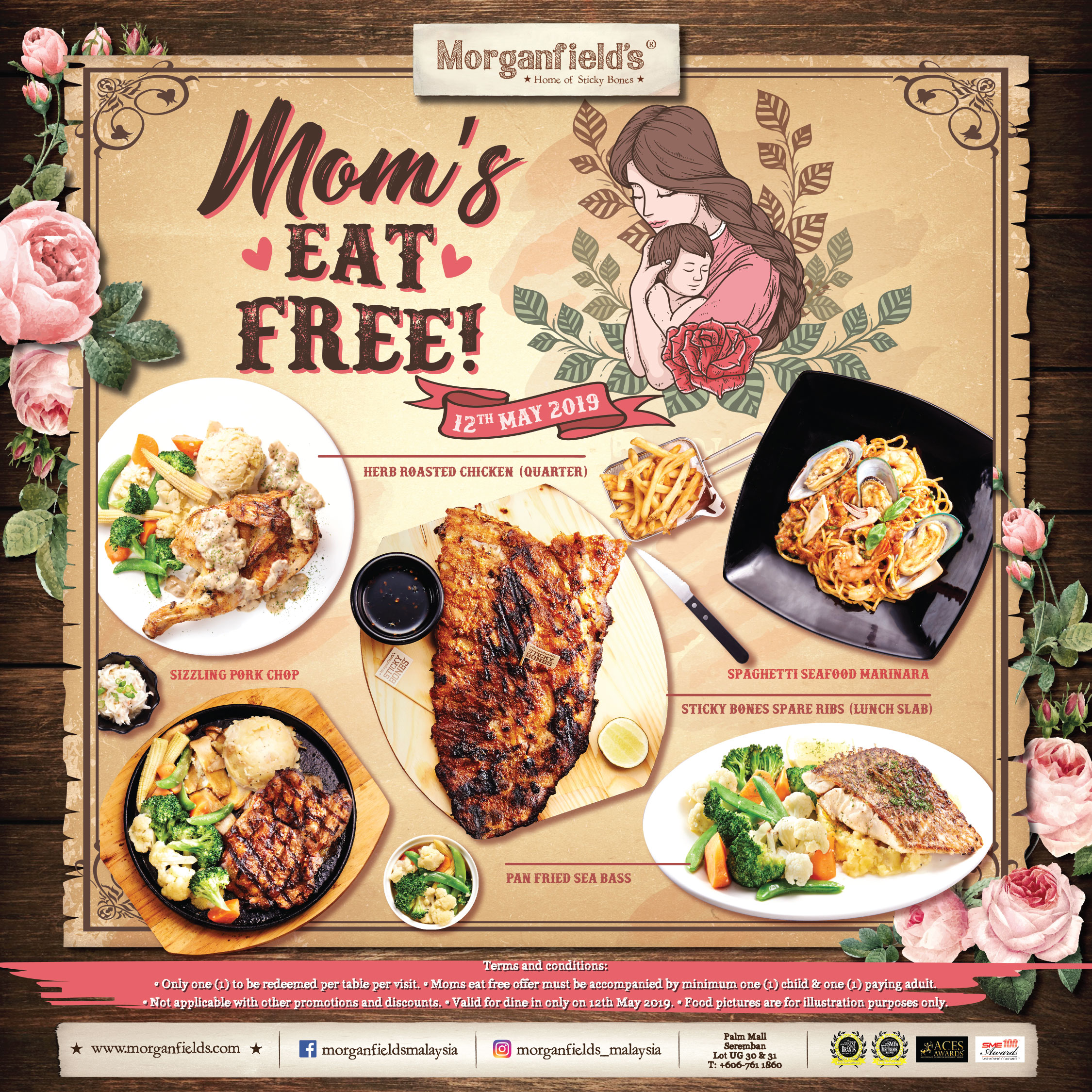 Morganfield's Mother's Day Promo