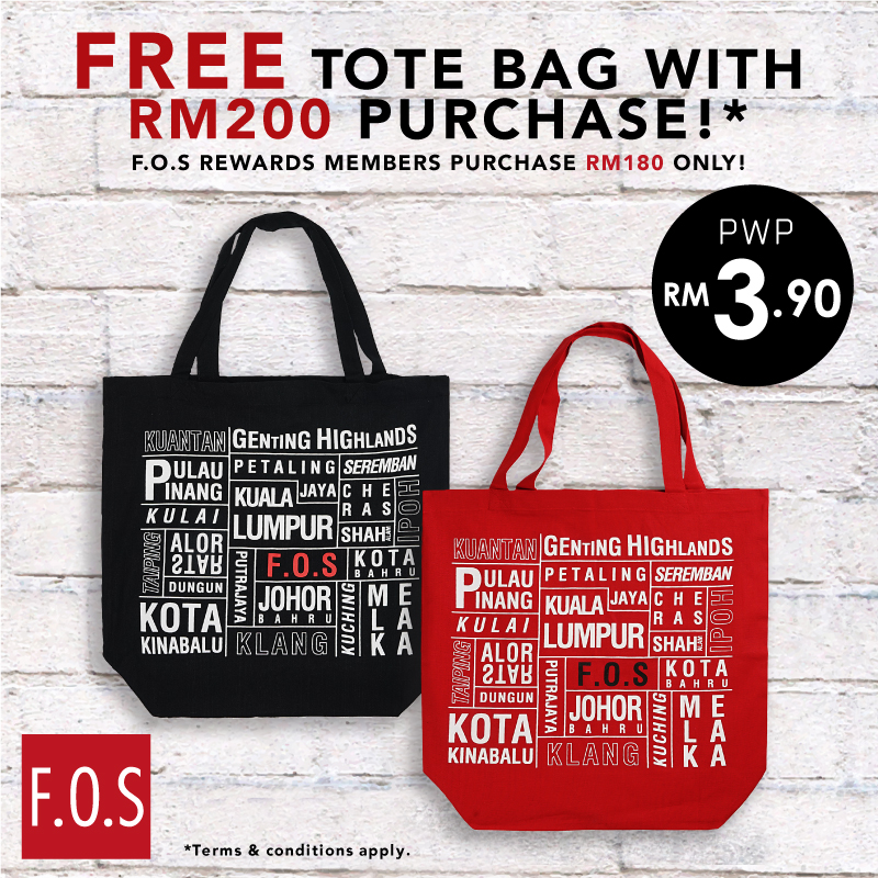 Tote Bag Promotion!