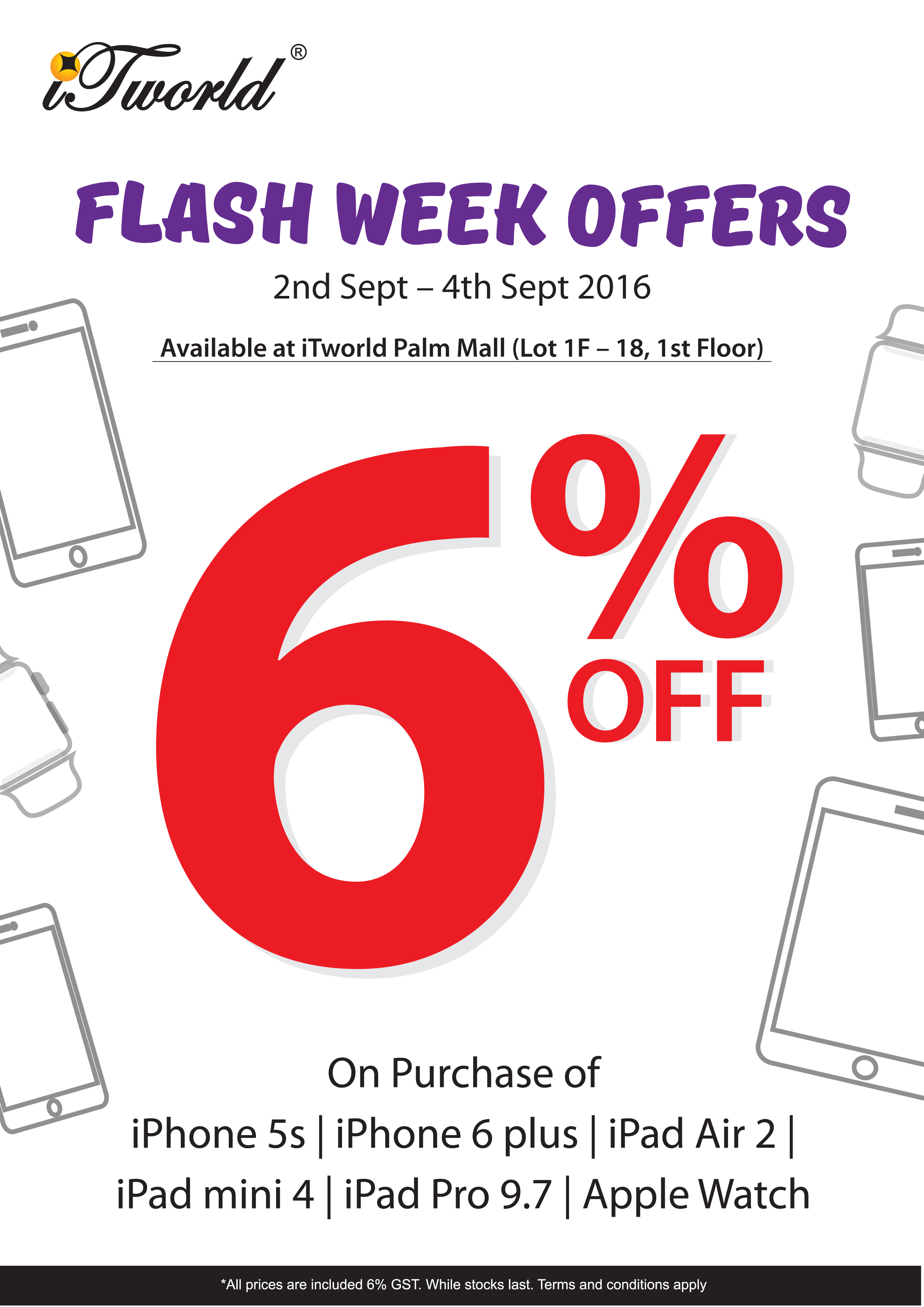 Flash Week Offers