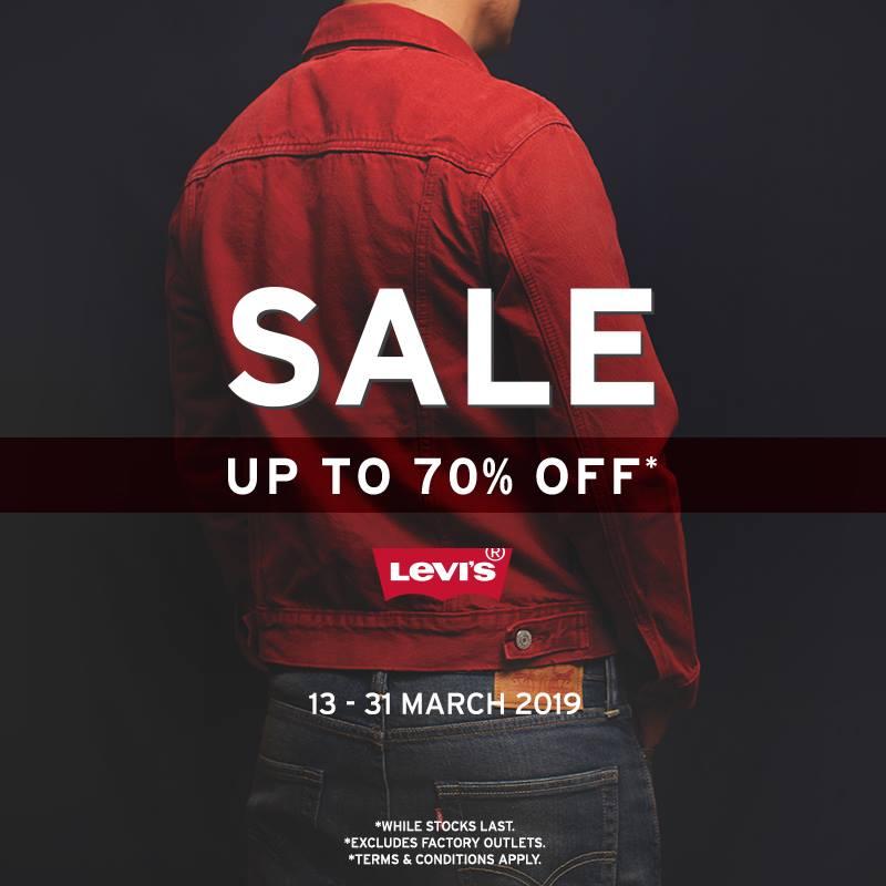 Levi's 70% Off Sale