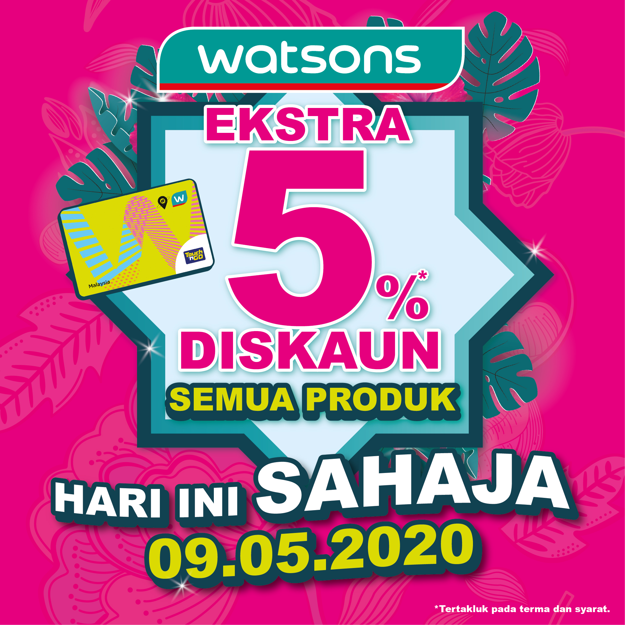 Watsons: One Day Exclusive