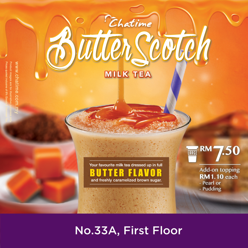 Butter Scotch Milk Tea