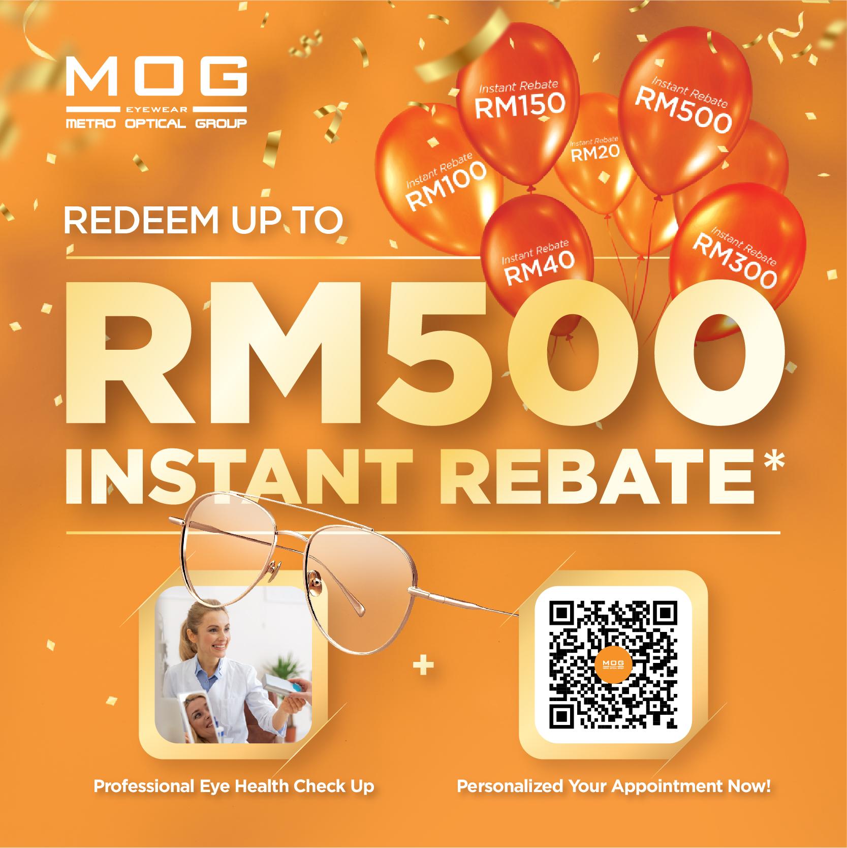 MOG Anniversary: Instant Rebate