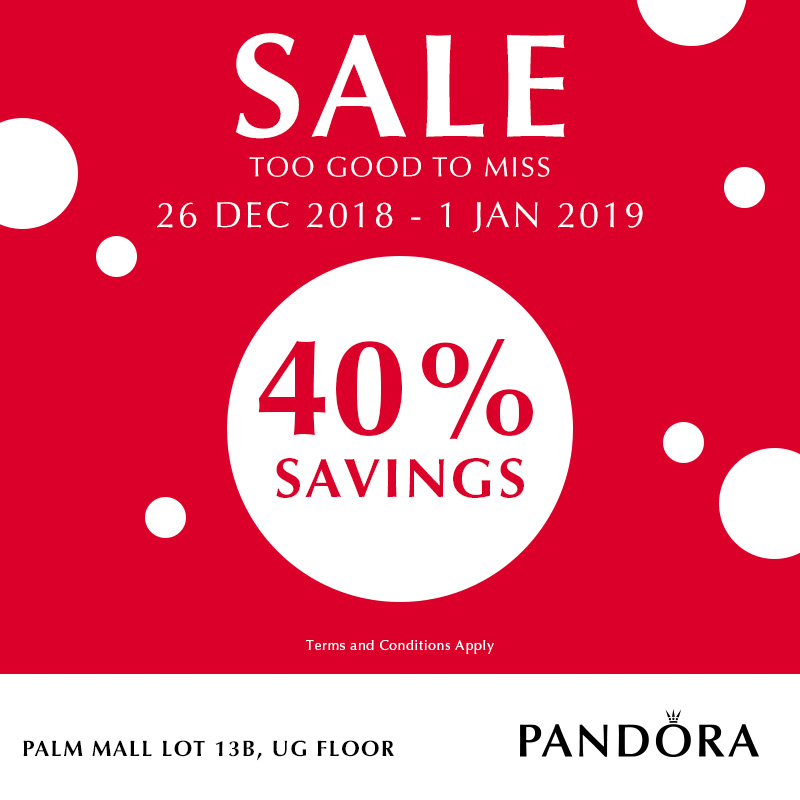 PANDORA Winter Sale