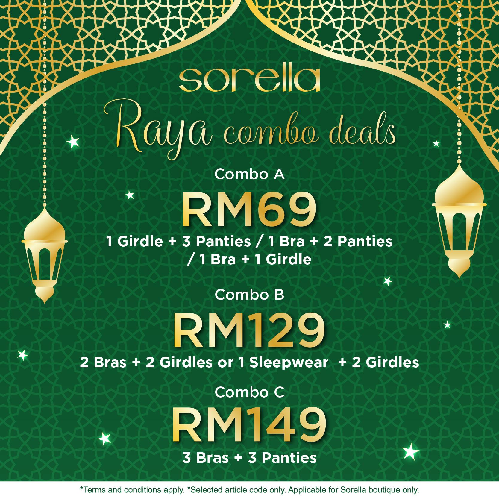 Raya Combo Deals