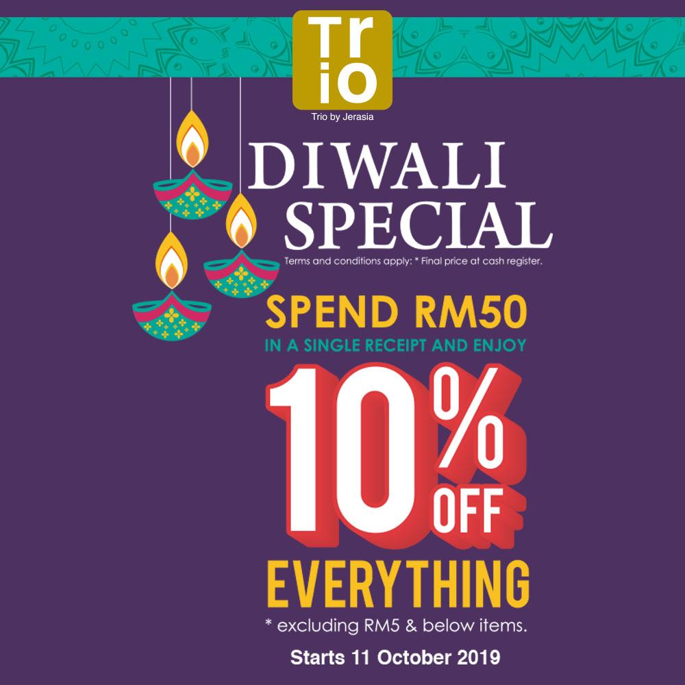 Trio Diwali Special !