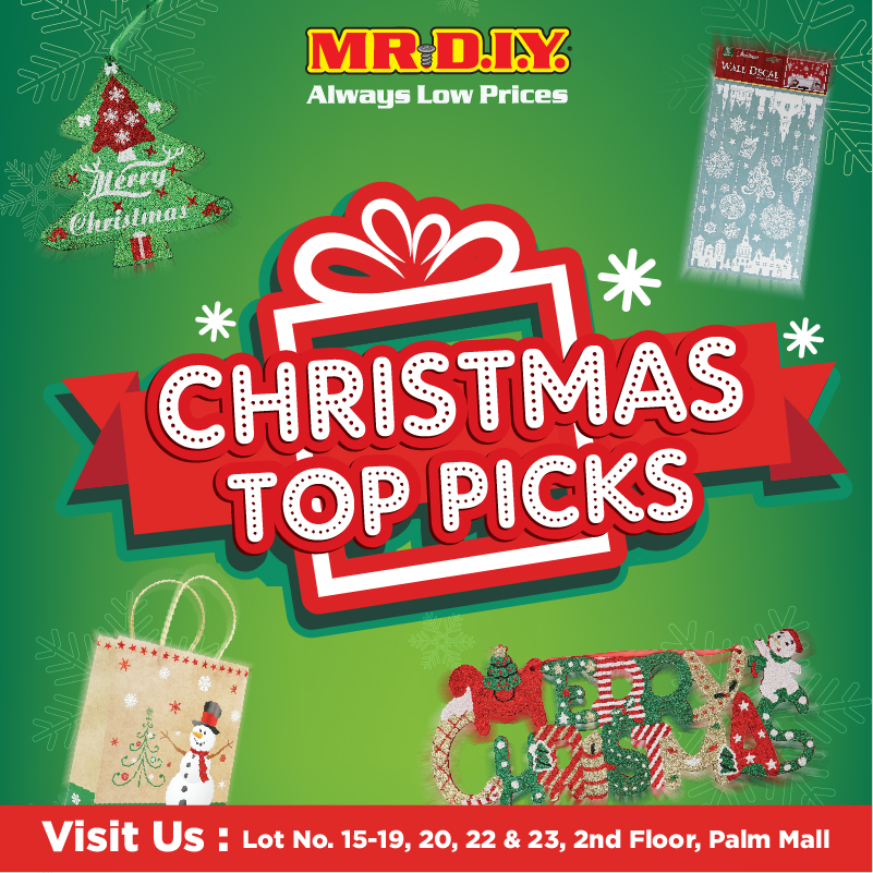 MR DIY: Christmas Promotion