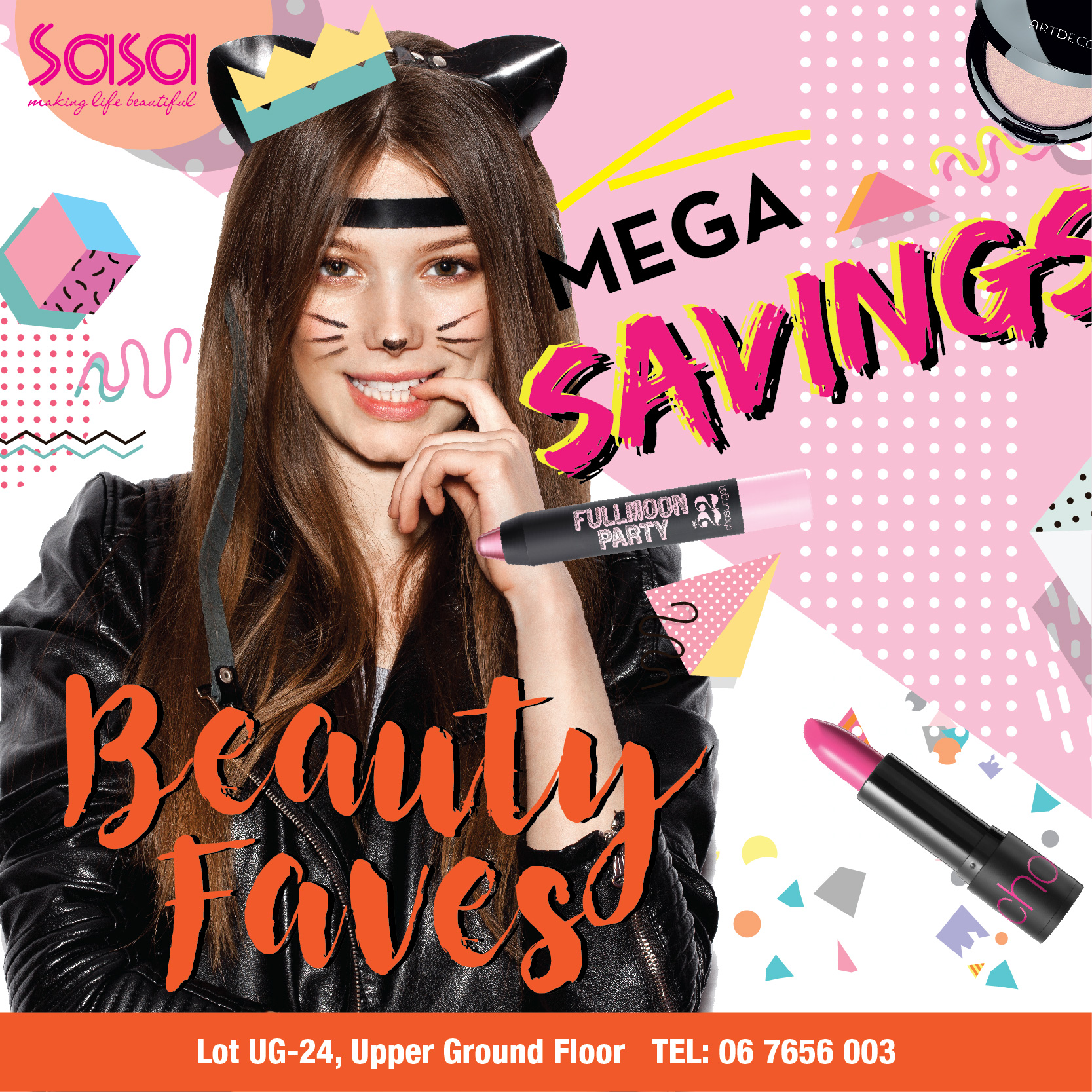 Beauty Faves Campaign
