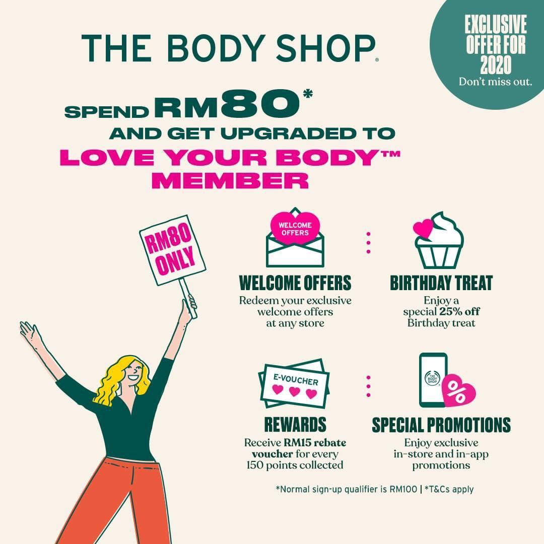 The Body Shop: Love Your Body