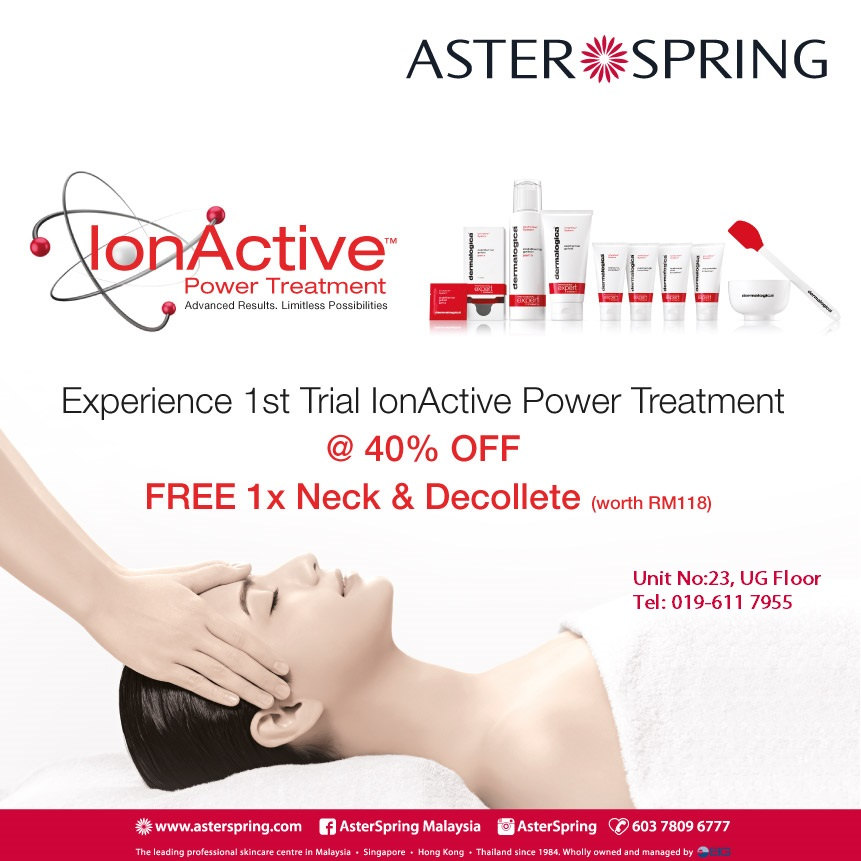 Ion Active Power Treatment