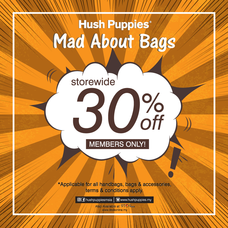 Hush Puppies Mad About Bags