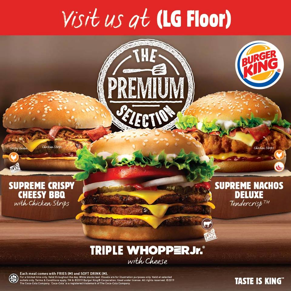 BURGER KING PREMIUM COLLECTION