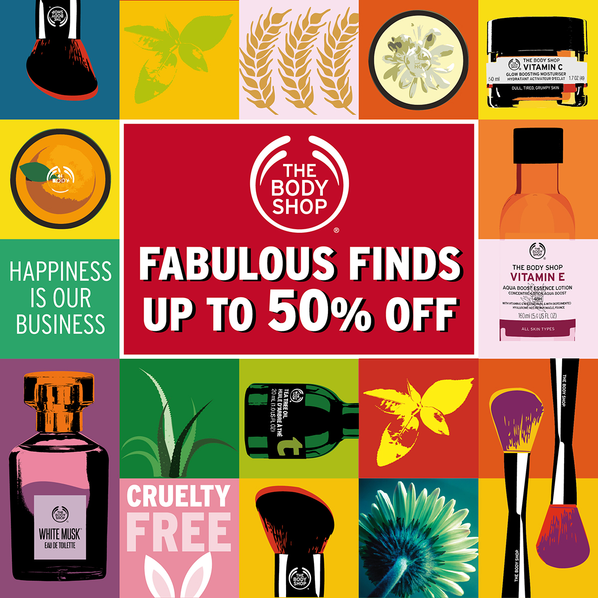The Body Shop March Sale