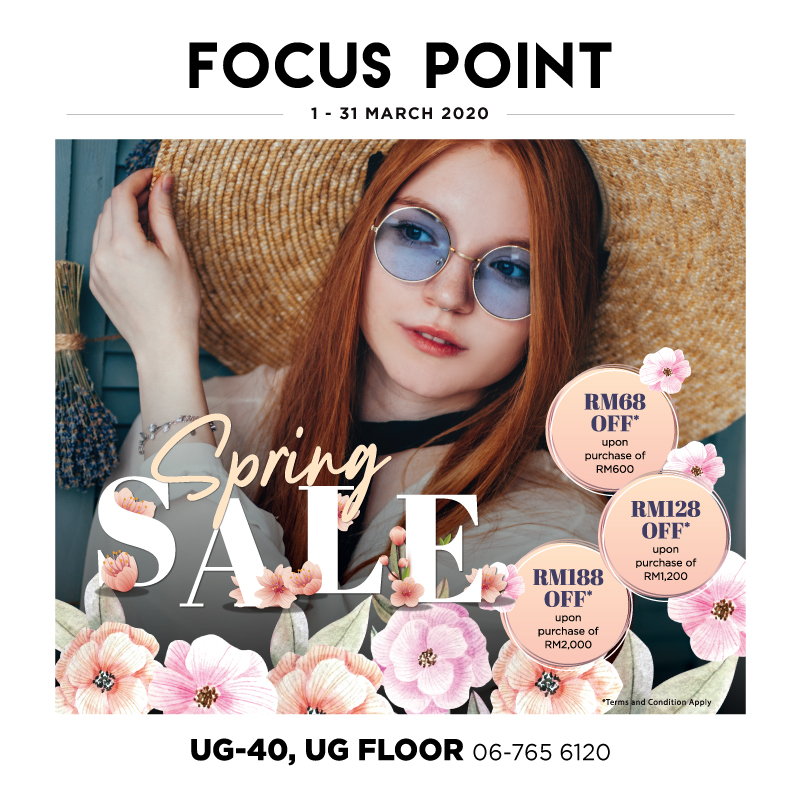 Focus Point Spring Sale!