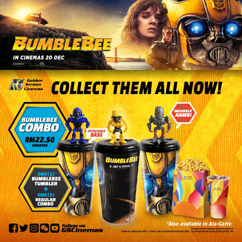 GSC Bumblebee Promo