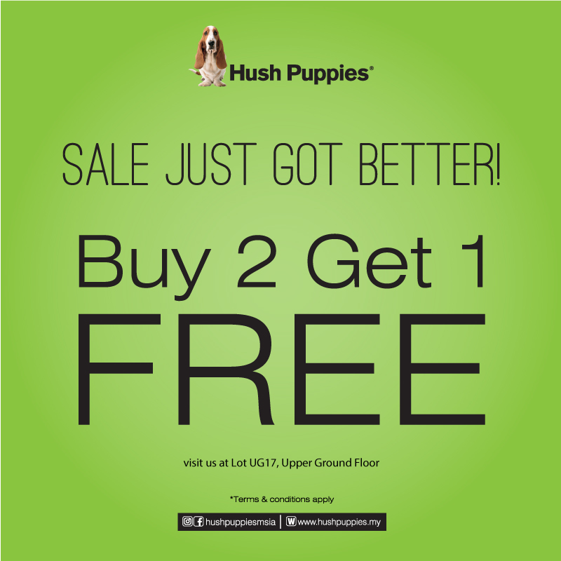 Hush Puppies Special Promo