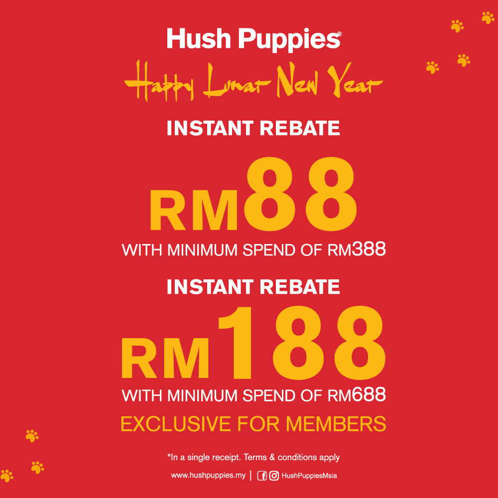 Hush Puppies Chinese New Year Promo