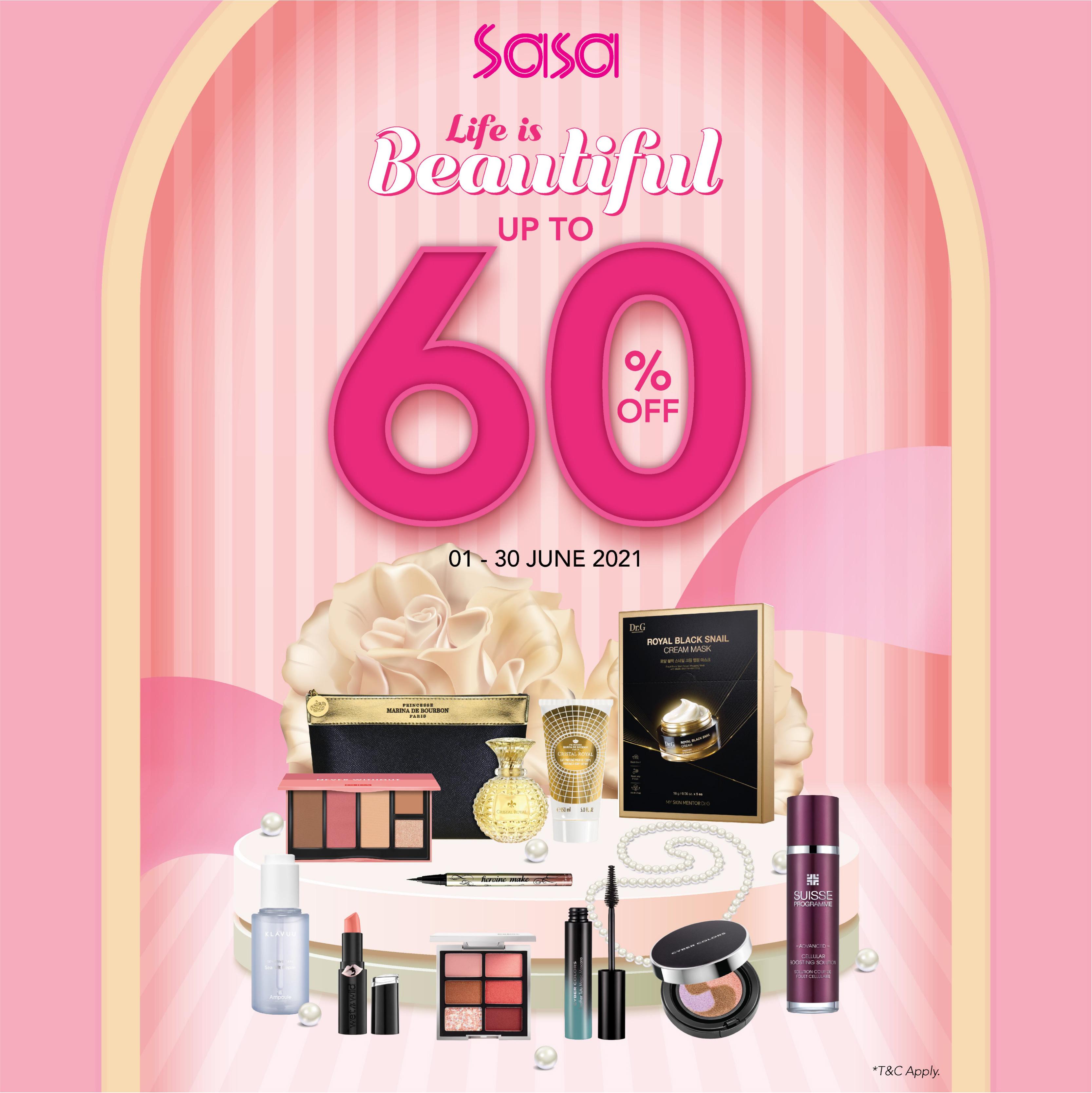 Sa Sa June Promo : Life is Beautiful