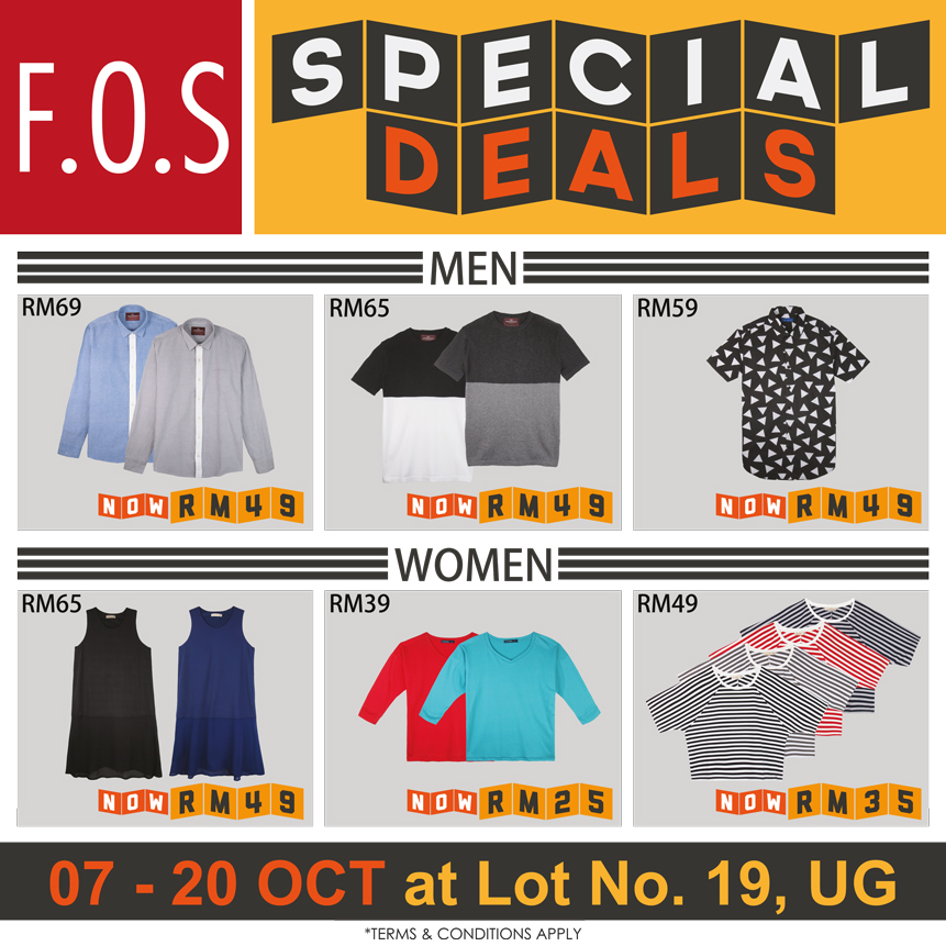 F.O.S Special deal