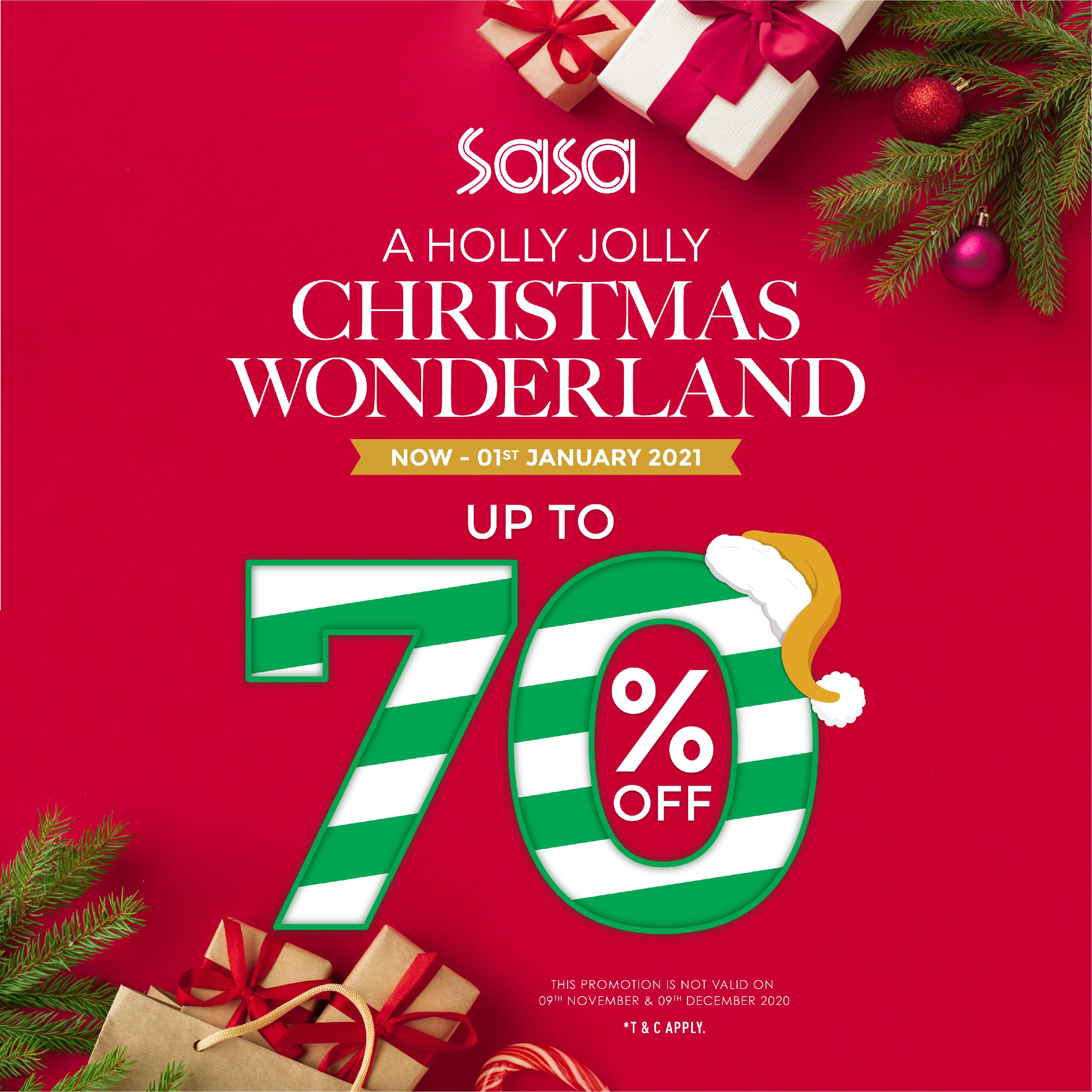 Sa Sa Christmas Wonderland