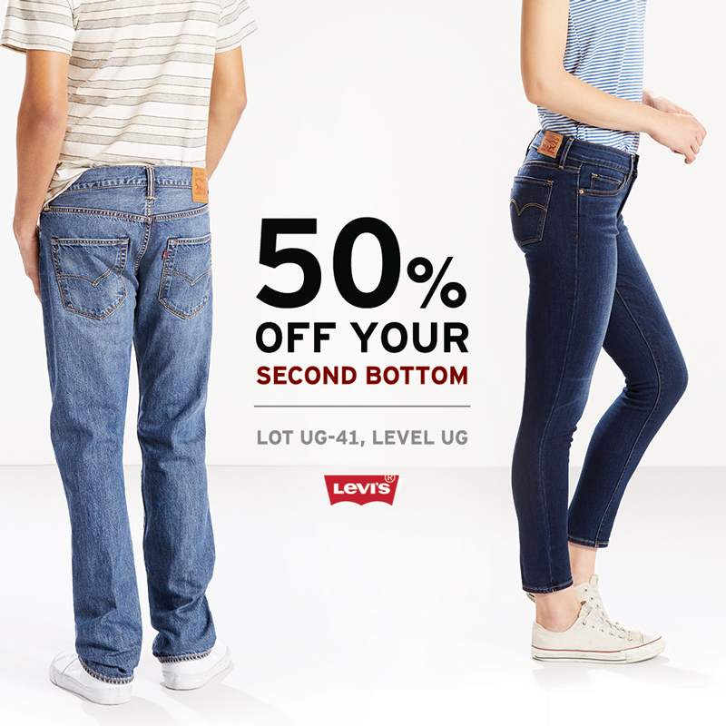50% Off Second Bottom Promotion