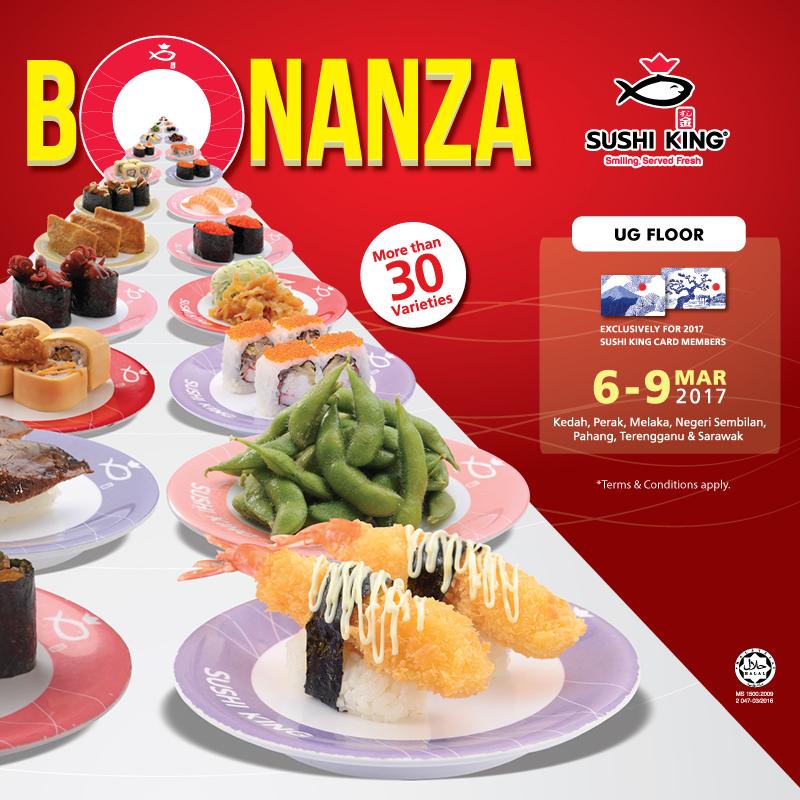 Sushi King's Bonanza Promotion