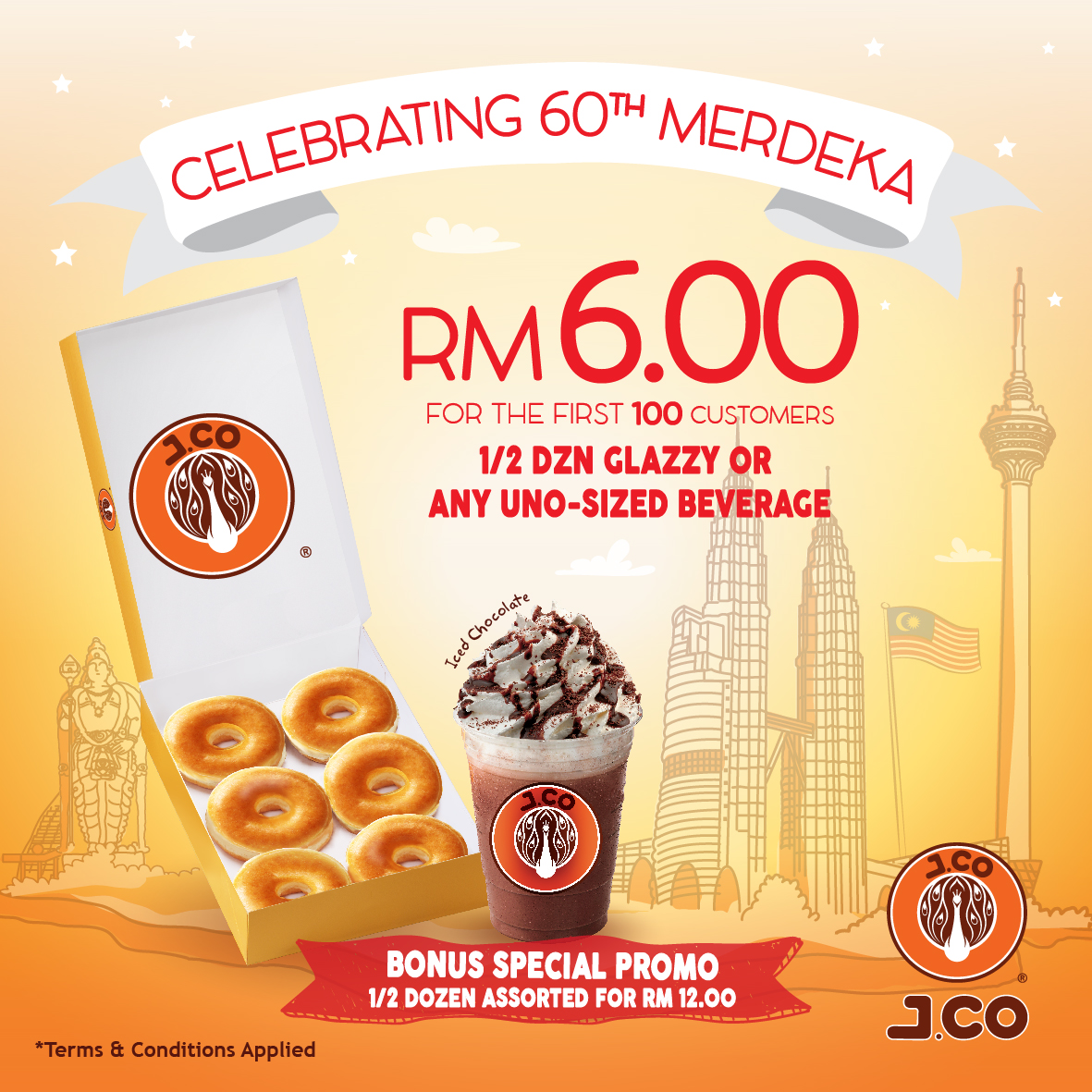 J.CO Merdeka Promotion
